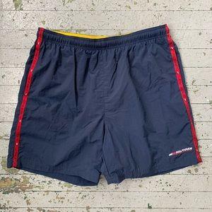 Tommy Hilfiger Navy Blue Swim Trunks Men's XL